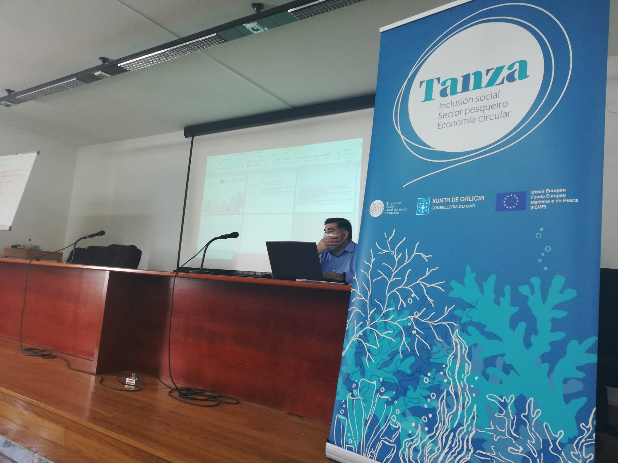 Encontro Territorial Proxecto Tanza en Burela
