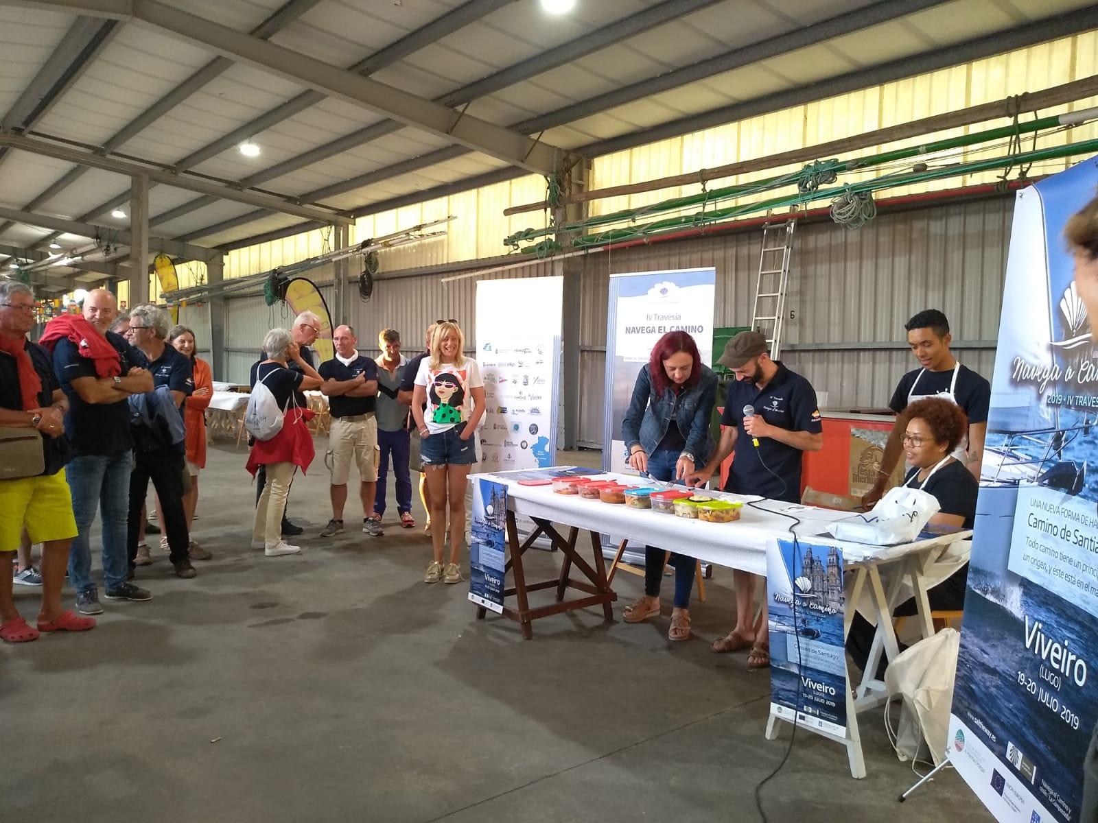 "Concurso de Cociñado de Pescada da "" IV Travesía Navega el Camino"""