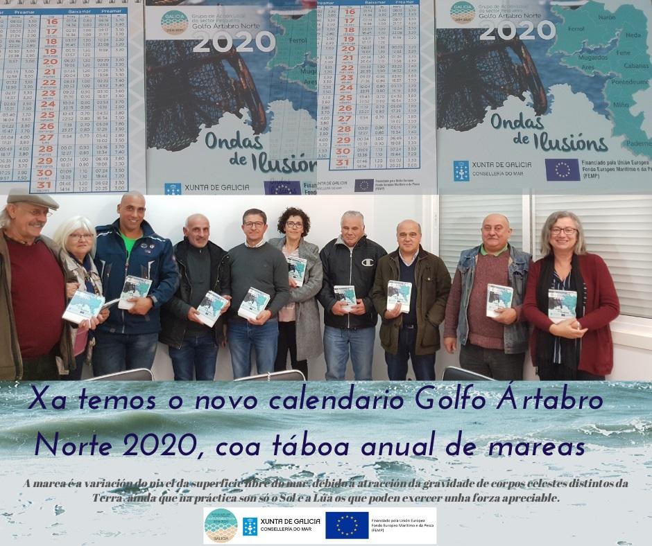 Táboa de mareas 2020