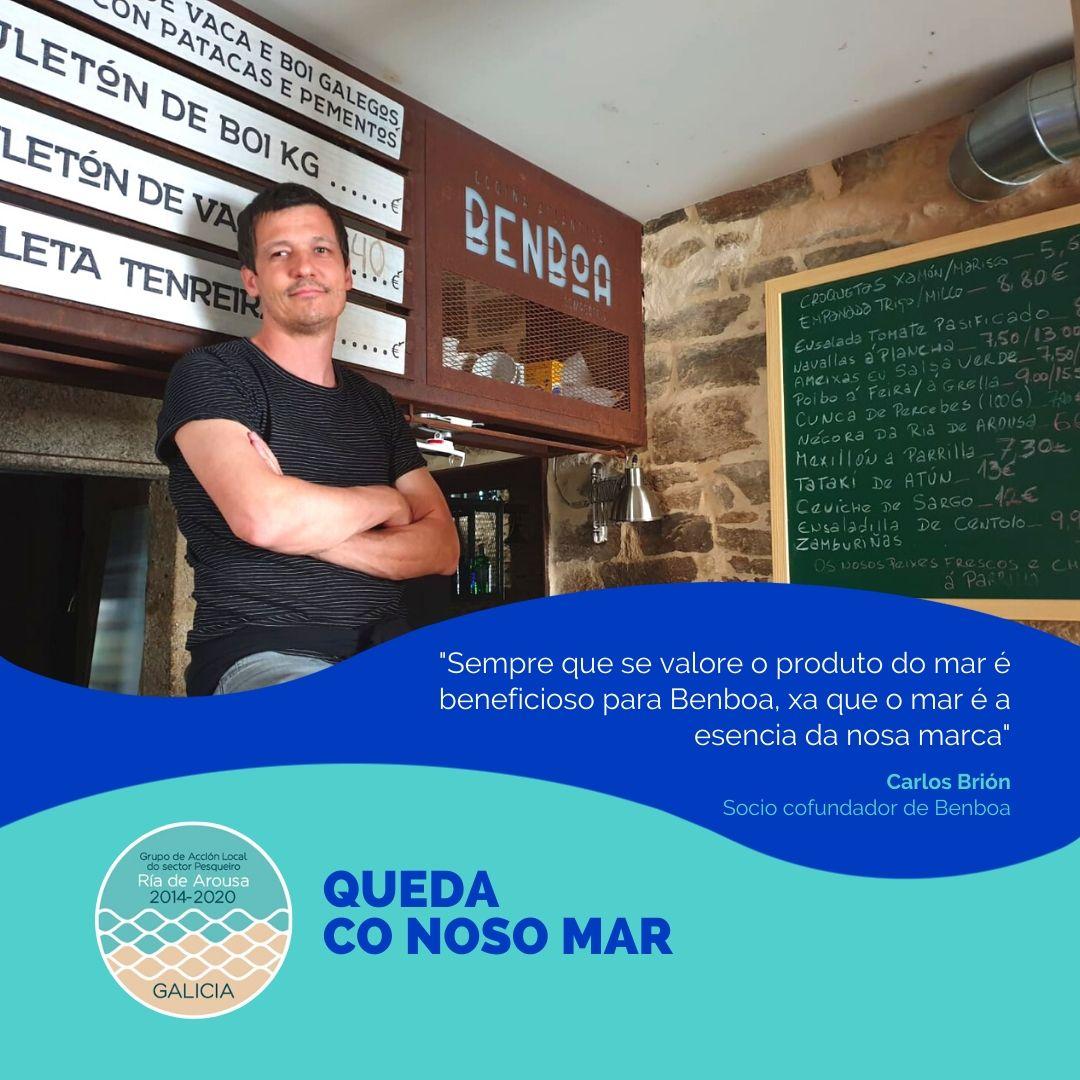 Carlos Brión, socio cofundador de Benboa