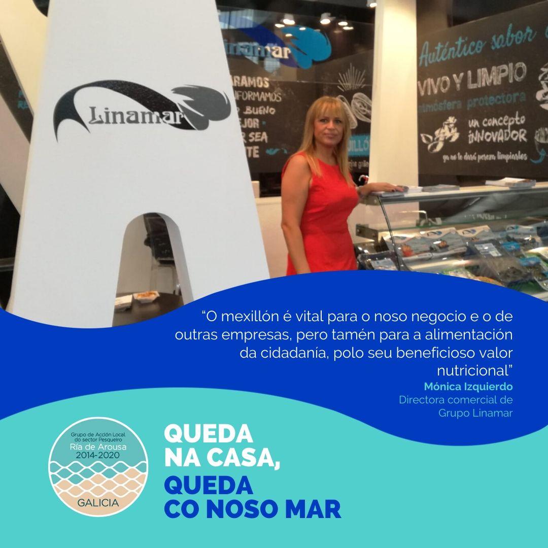 Mónica Izquierdo, directora comercial de Grupo Linamar
