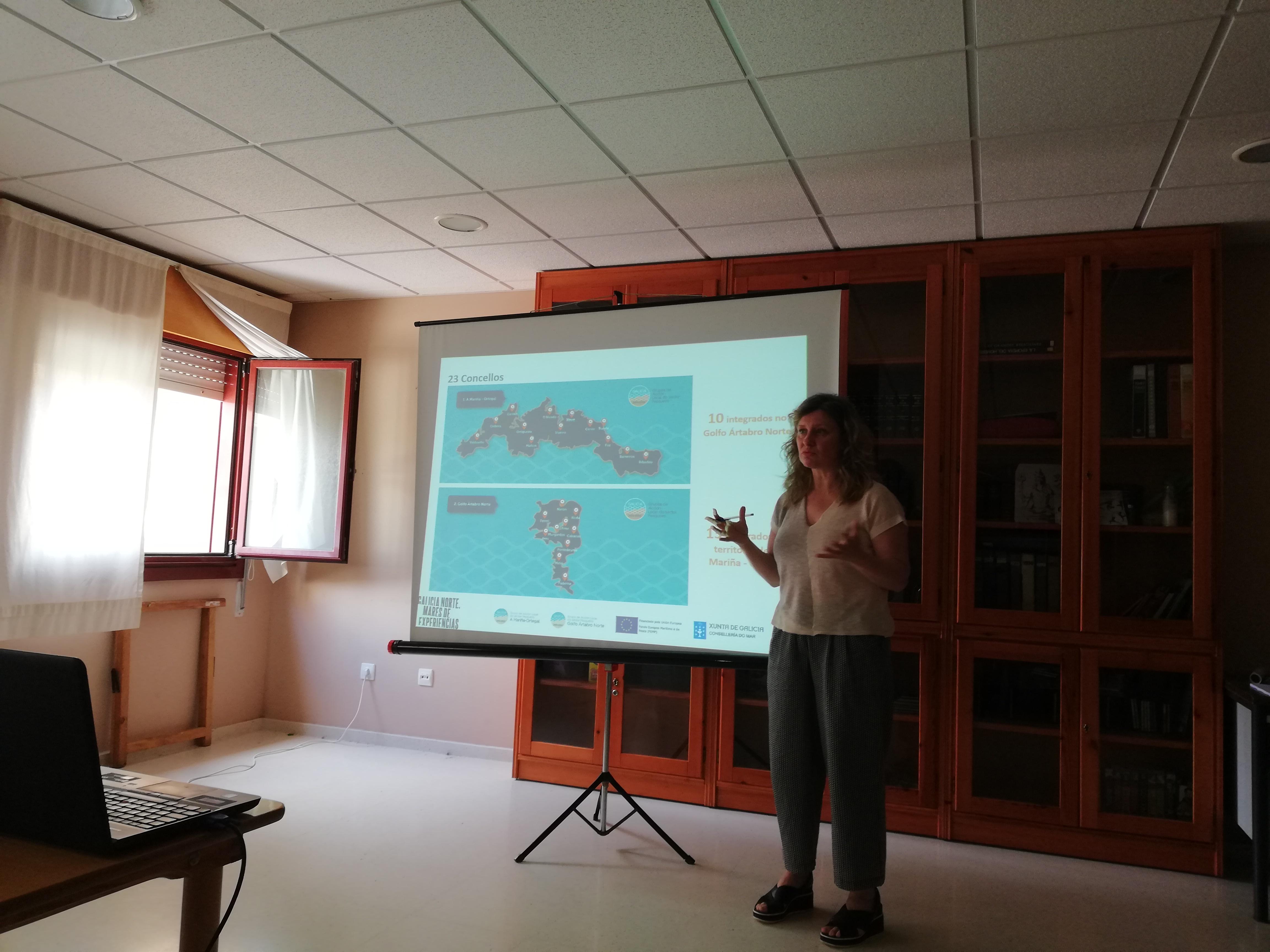 Xornada de difusión Cedeira. Galicia Norte. Mares de Experiencias