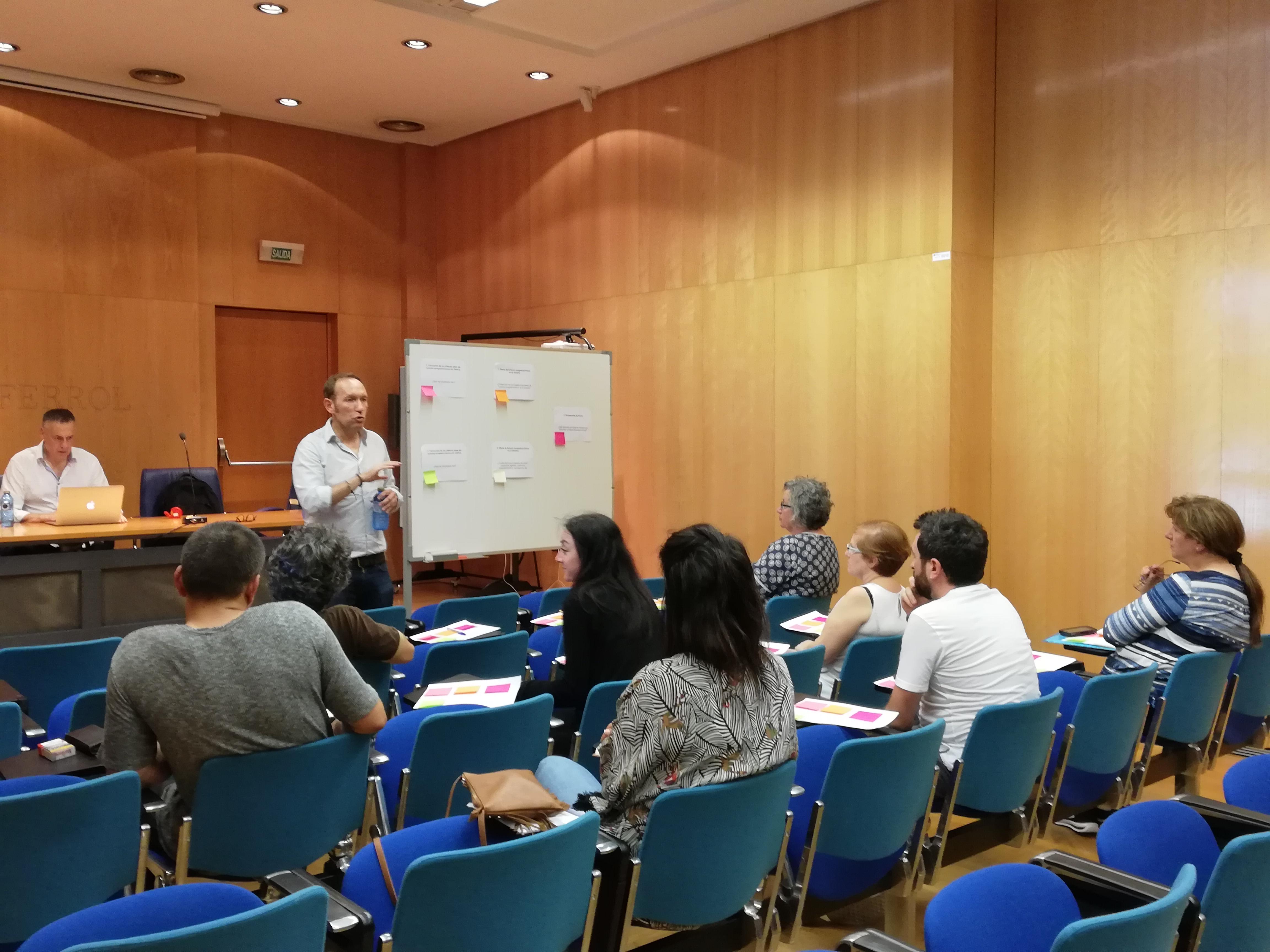 Mesa de traballo de Ferrol do Plan Estratéxico de Turismo Enogastronómico de Galicia.