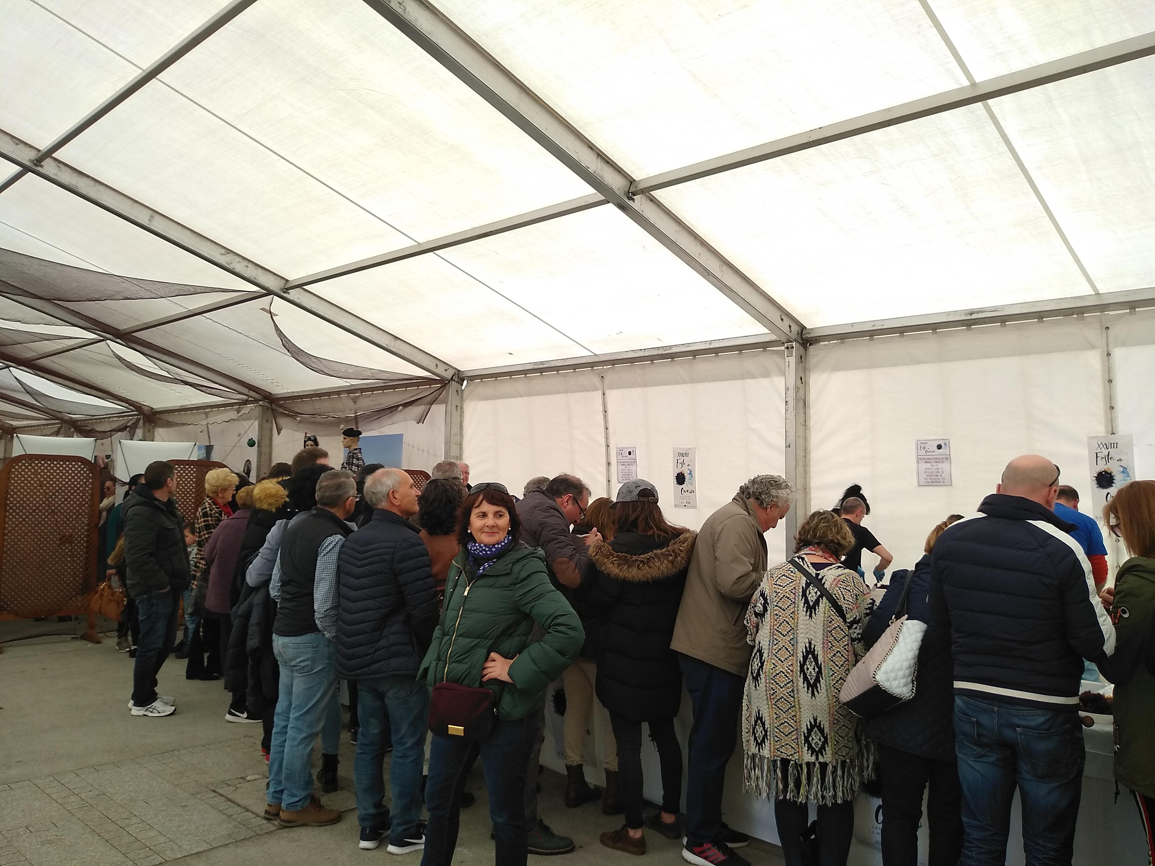 XXVIII Festa do Ourizo San Cibrao- Cervo