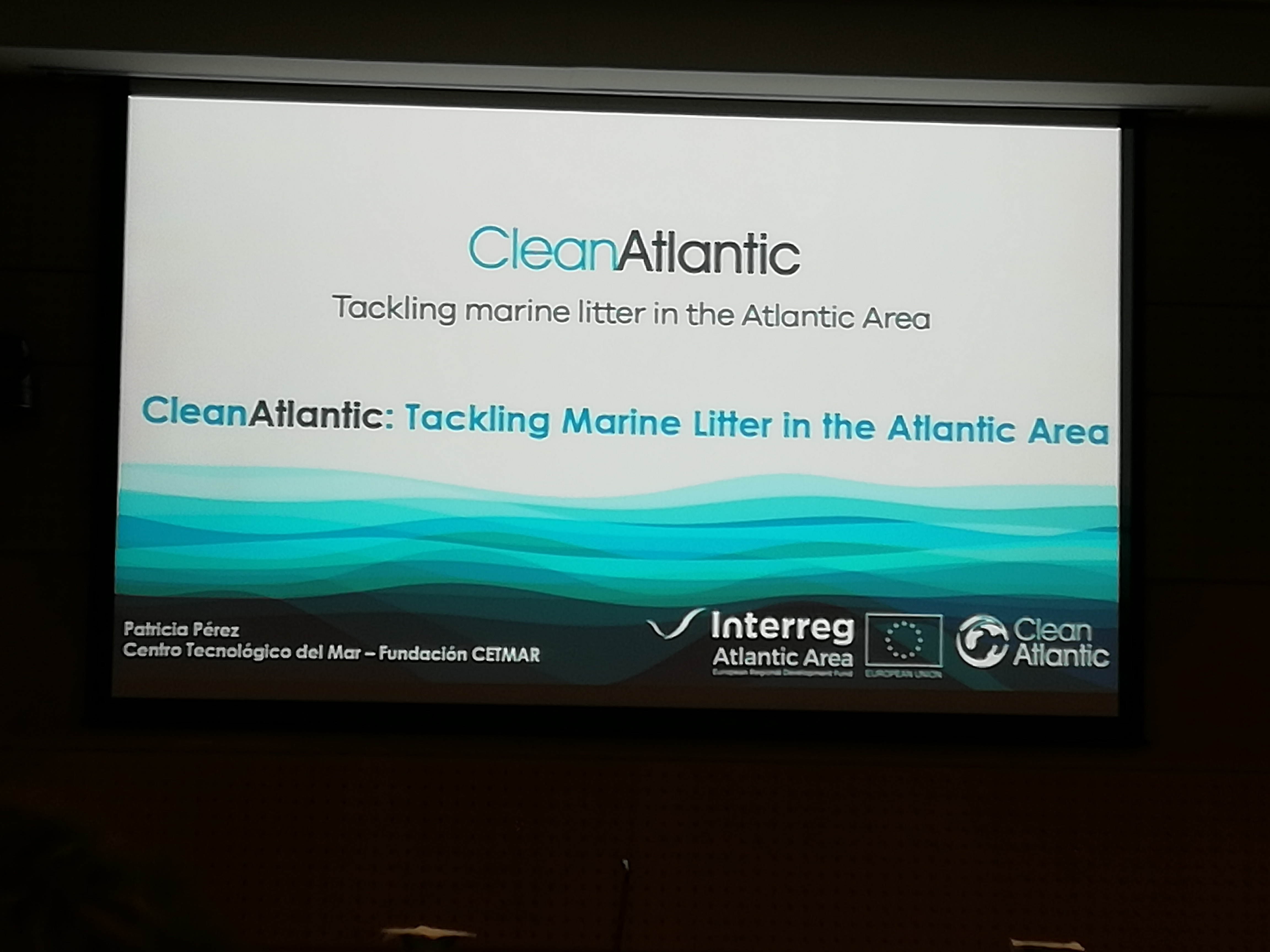 "O GALP A Mariña-Ortegal participa no Seminario ""CleanAtlantic. La lucha contra la basura marina en el Espacio Atlántico"""