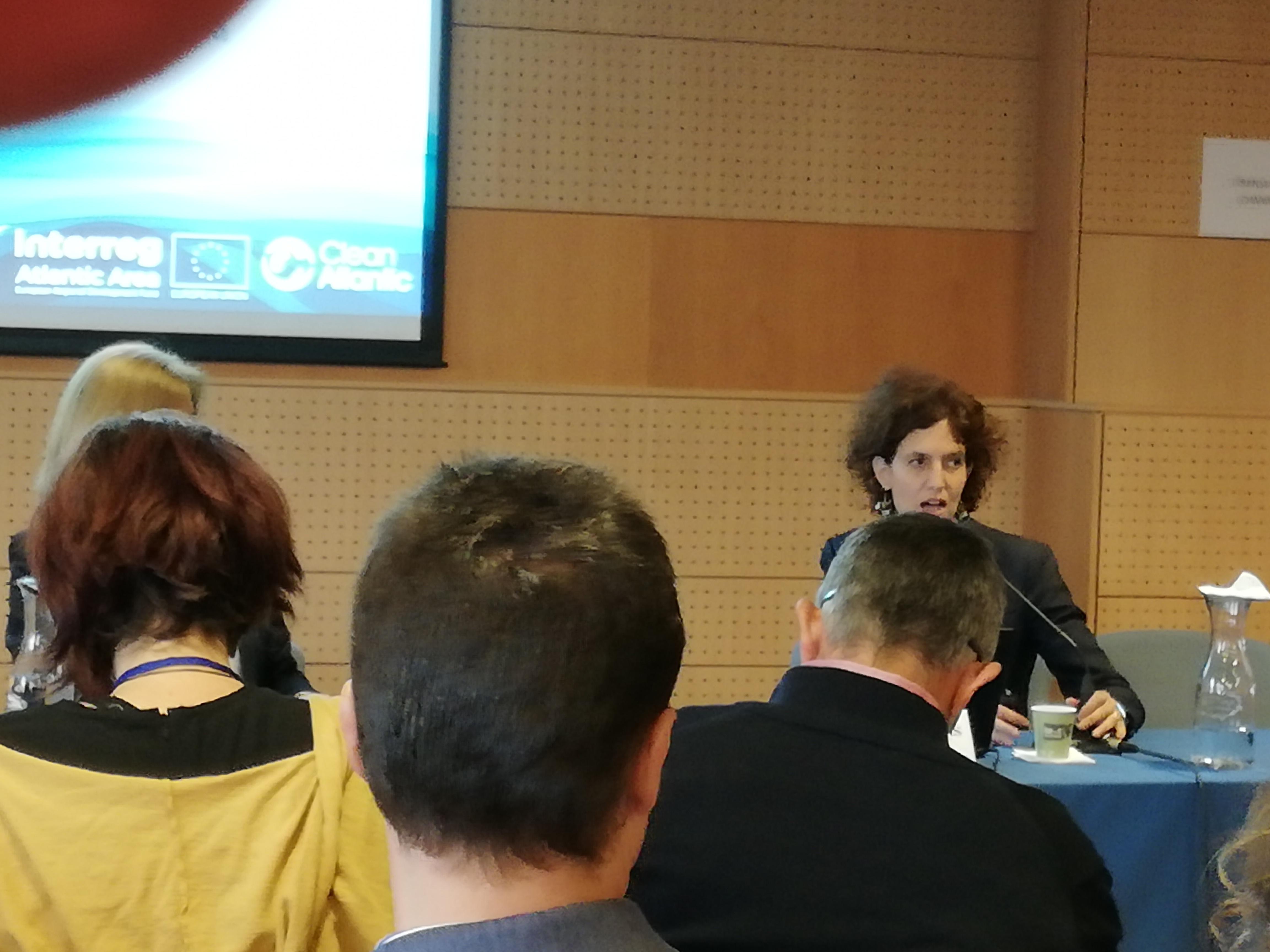 """O GALP A Mariña-Ortegal participa no Seminario """"CleanAtlantic. La lucha contra la basura marina en el Espacio Atlántico"""""""