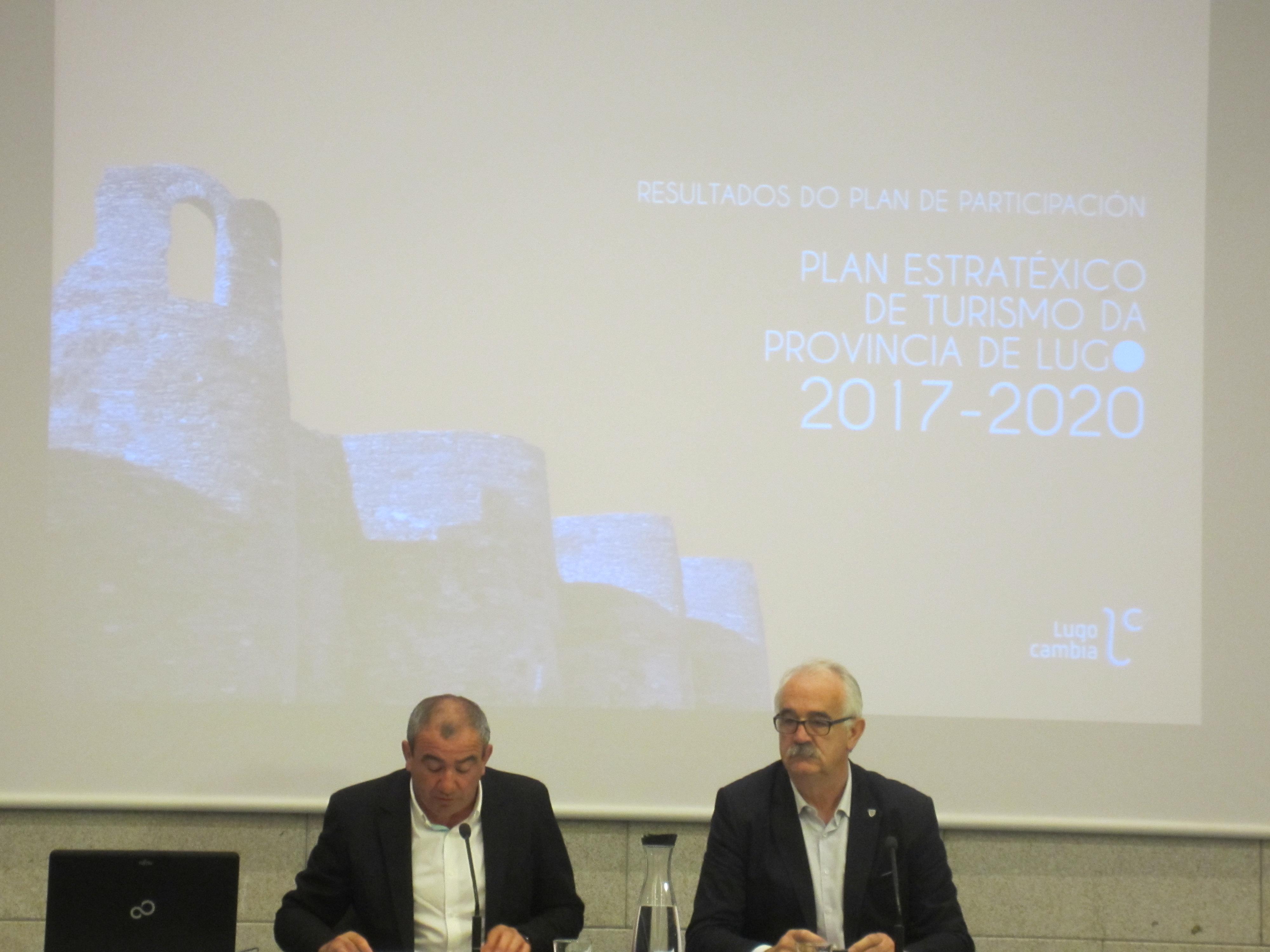 Presentación dos Resultados do Plan de participación no Plan Estratéxico de Turismo da Provincia de Lugo 2017-2020