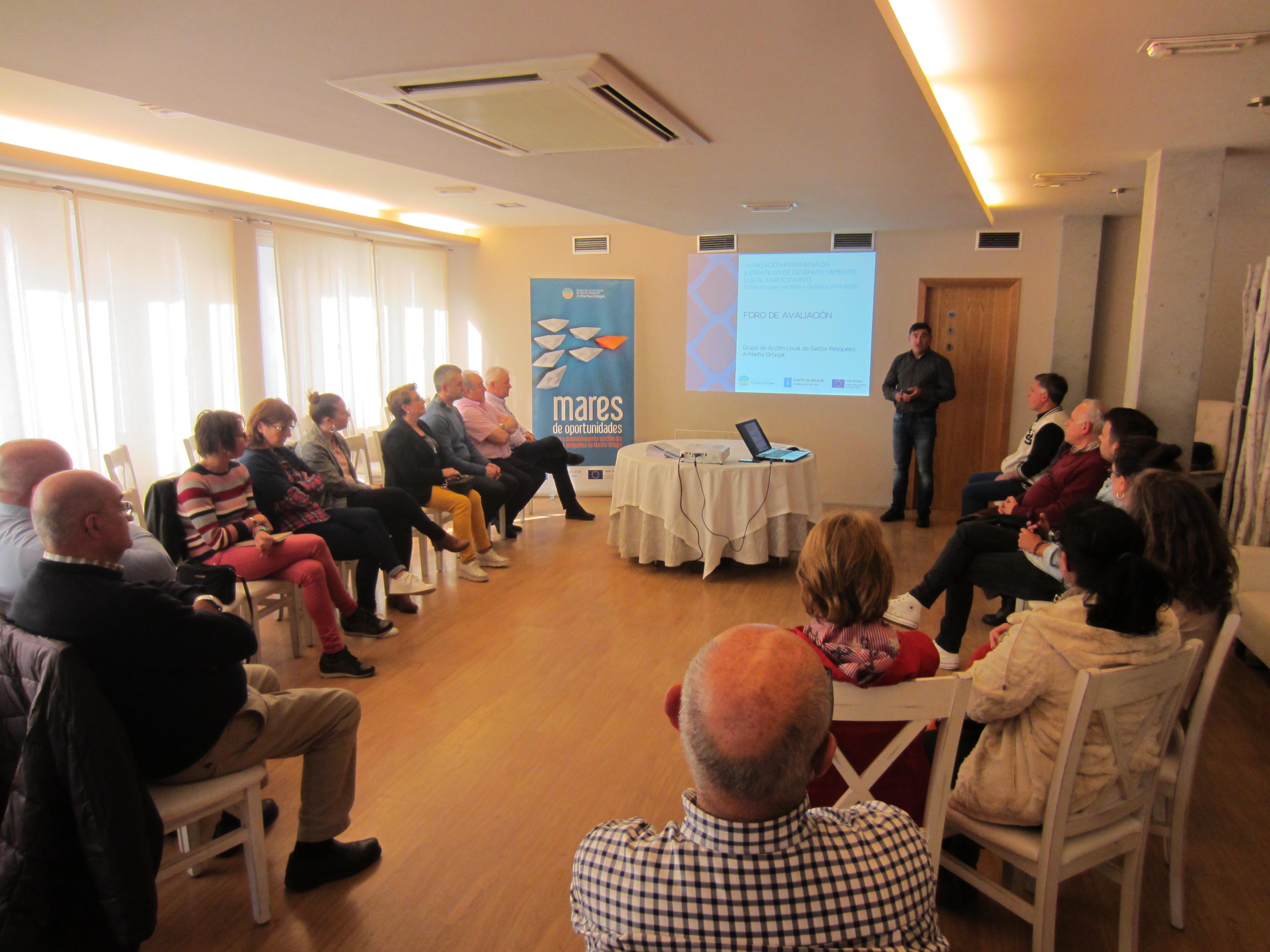 O GALP A Mariña Ortegal pecha en Viveiro o proceso de avaliación intermedia da Estratexia do Fondo Europeo Marítimo e de Pesca