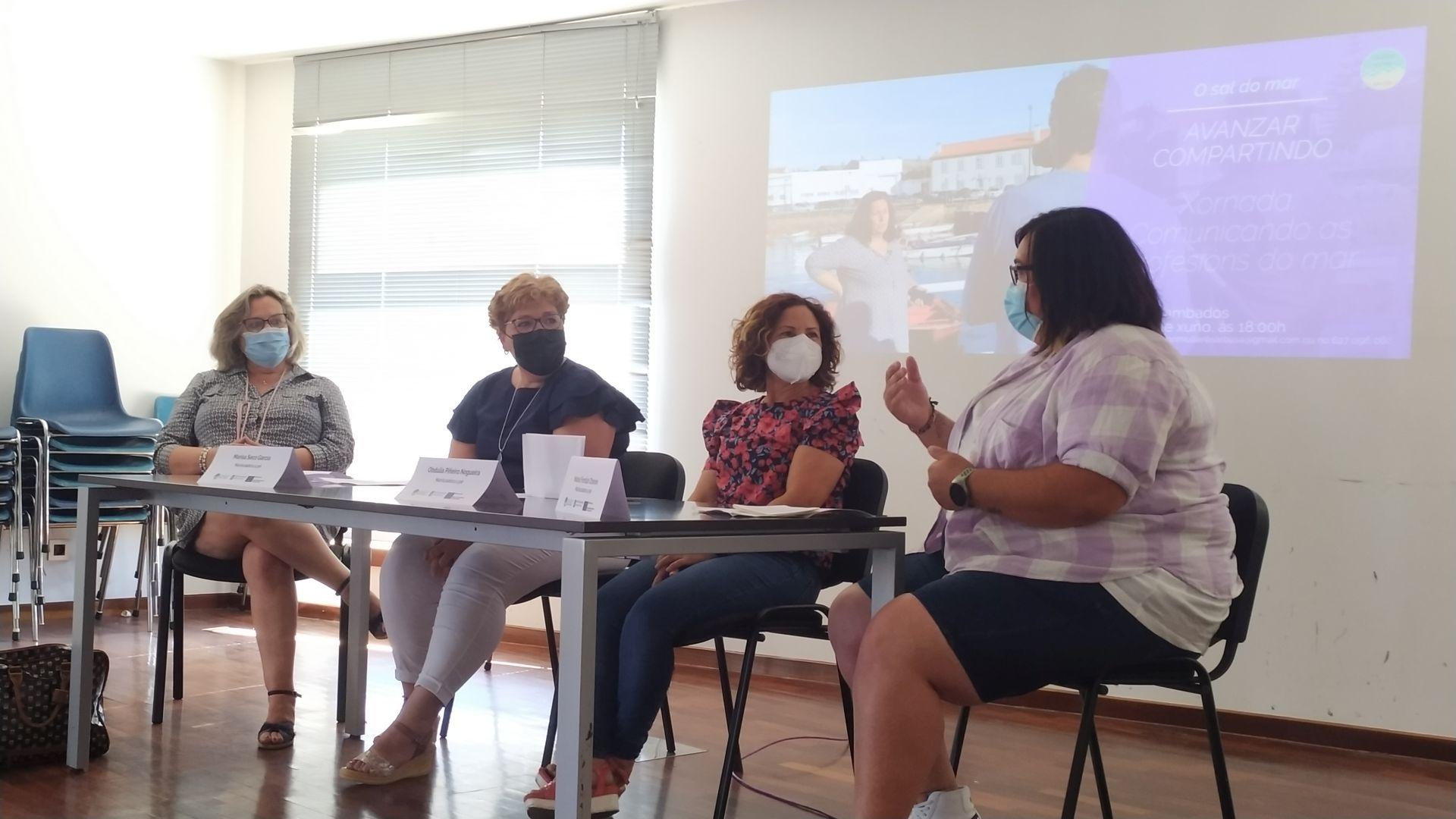 GALP Ría de Arousa Programa O Sal do Mar 2021 trintena mulleres xornada Cambados