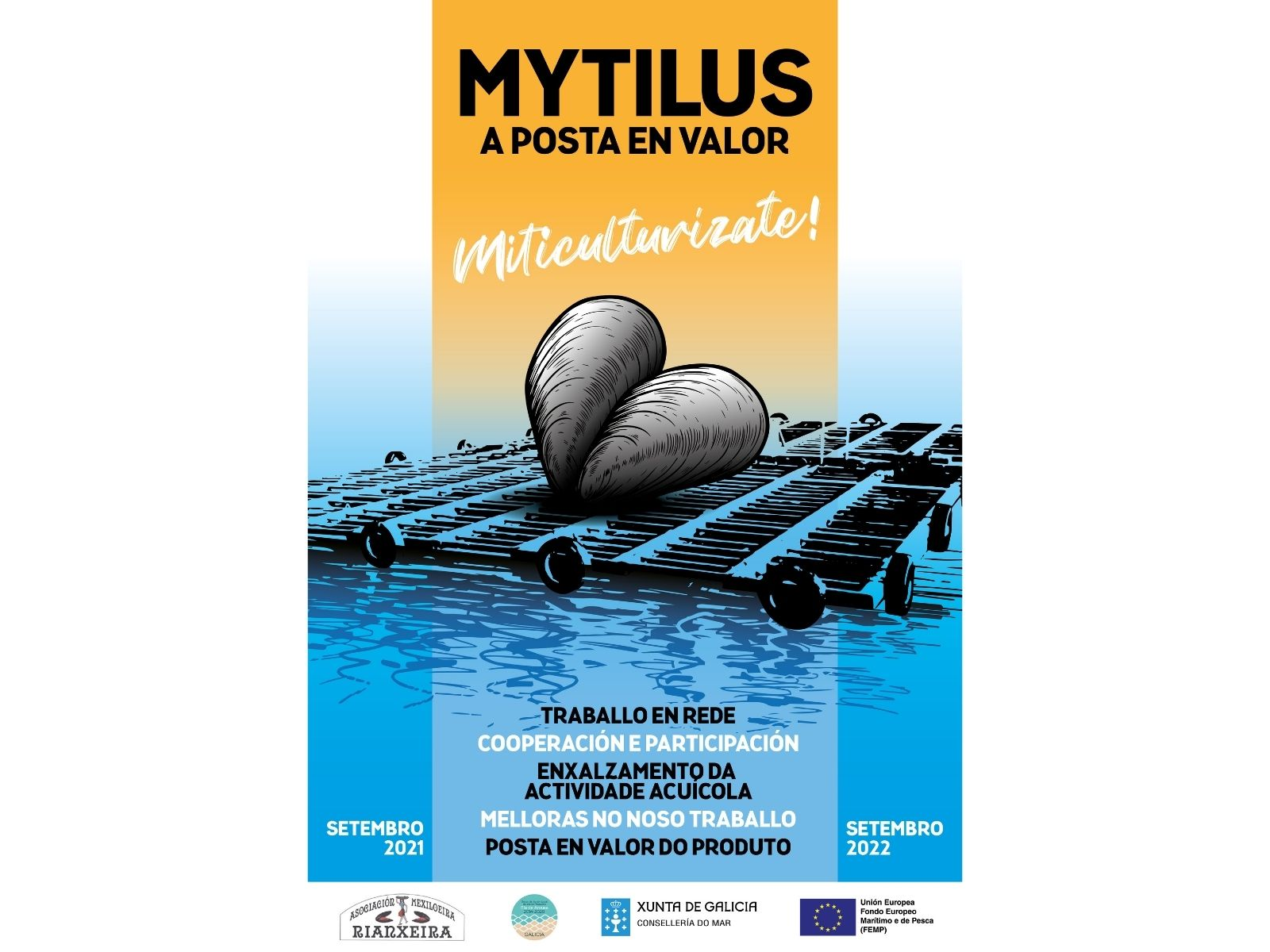 Cartel proxecto Mytilus