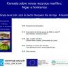 Xornada sobre novos recursos mariños: Algas e holoturias, en Cangas
